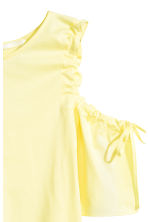 露肩上衣 - Light yellow - Ladies | H&M 3