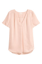 V-neck blouse - Powder pink - Ladies | H&M 2