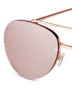 Sunglasses - Rose gold-colored - Ladies | H&M CA 3
