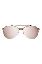 Sunglasses - Rose gold-colored - Ladies | H&M CA 2