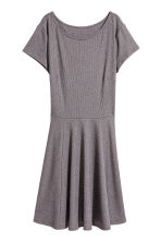 汗布连衣裙 - Dark grey marl - Ladies | H&M CN 2