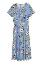 Patterned dress - Blue/Floral - Ladies | H&M 2