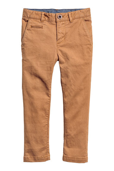 Chino Skinny fit - Camel -  | H&M FR