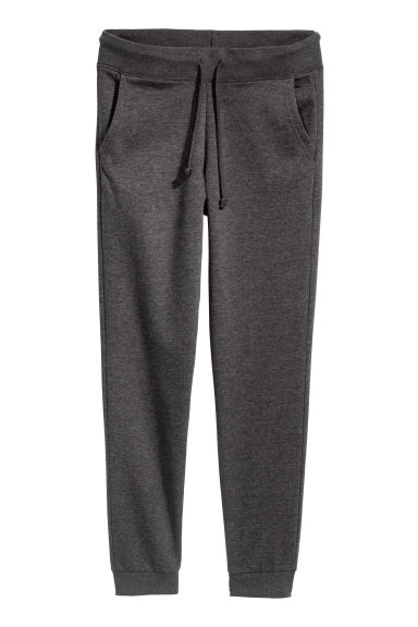 Sweatpants - Dark grey marl - Ladies | H&M CN