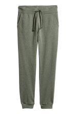 Sweatpants - Khaki green - Ladies | H&M CN 2