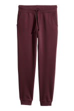 Sweatpants - Burgundy - Ladies | H&M IE 2