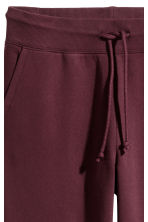 Sweatpants - Burgundy - Ladies | H&M CN 3