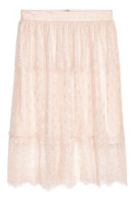 Knee-length Skirt - Light beige - Ladies | H&M CA 2