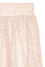 Knee-length Skirt - Light beige - Ladies | H&M CA 3