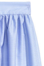 Knee-length skirt - Light blue/Broderie anglaise - Ladies | H&M 3