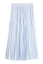 Pleated skirt - Light blue - Ladies | H&M 2