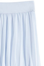Pleated skirt - Light blue - Ladies | H&M 3