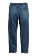 Super Soft denim joggers - Dark denim blue - Kids | H&M 3
