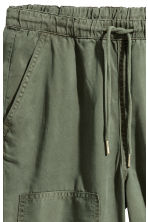 Pull-on lyocell trousers - null - Ladies | H&M CN 3