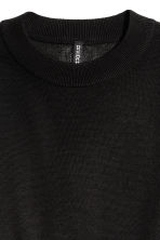 Pullover corto - Nero - DONNA | H&M IT 3