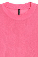 Short jumper - Neon pink - Ladies | H&M 3