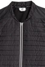 Padded running gilet - Black - Men | H&M 4
