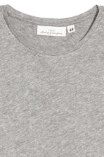 Jersey top - Light grey - Ladies | H&M 3