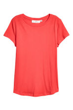 Jersey top - Bright red - Ladies | H&M CN 2