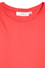 Jersey top - Bright red - Ladies | H&M CN 3