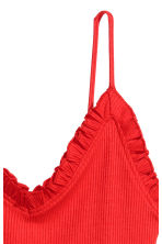Ribbed dress - Red - Ladies | H&M 3