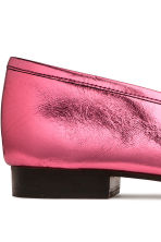 Leather loafers - Pink/Metallic - Ladies | H&M GB 5
