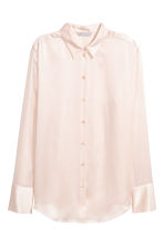 Silk shirt - Powder - Ladies | H&M CA 2