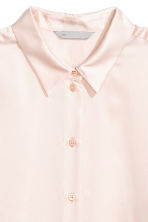 Silk shirt - Powder - Ladies | H&M CA 3