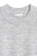 Knitted jumper - Light grey - Ladies | H&M 3