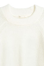 Knitted jumper - White - Ladies | H&M 3