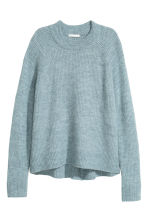 Knitted jumper - Turquoise - Ladies | H&M 2