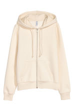 Hooded jacket - Light beige - Ladies | H&M 2