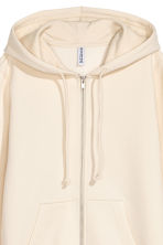 Hooded jacket - Light beige - Ladies | H&M 3