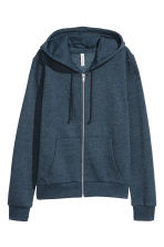 Hooded jacket - Blue marl - Ladies | H&M CN 2