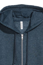 Hooded jacket - Blue marl - Ladies | H&M 3