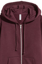 Hooded jacket - Burgundy - Ladies | H&M CN 3