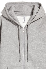 Hooded jacket - Grey marl - Ladies | H&M CN 3