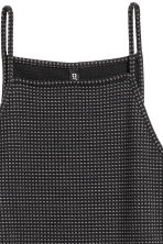 Jacquard-patterned dress - Black - Ladies | H&M CN 2