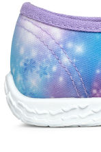 Patterned indoor shoes - Purple - Kids | H&M IE 3