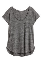 平紋上衣 - Dark grey marl - Ladies | H&M 2