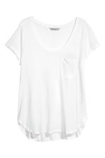 Jersey top - White - Ladies | H&M CN 1