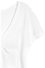 Jersey top - White - Ladies | H&M CN 2