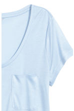 Jersey top - Light blue - Ladies | H&M CN 3