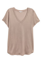 Top in jersey scollo a V - Talpa - DONNA | H&M IT 1