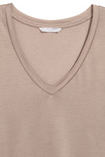 Top in jersey scollo a V - Talpa - DONNA | H&M IT 2