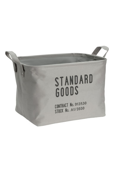 Storage basket - Grey - Home All | H&M CN