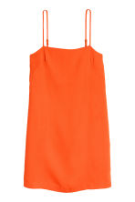 Crêppad klänning - Orange - Ladies | H&M FI 2