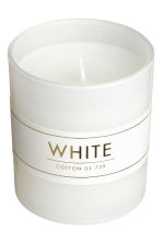 Candela profumata in vasetto - Bianco/Cotton - HOME | H&M IT 3
