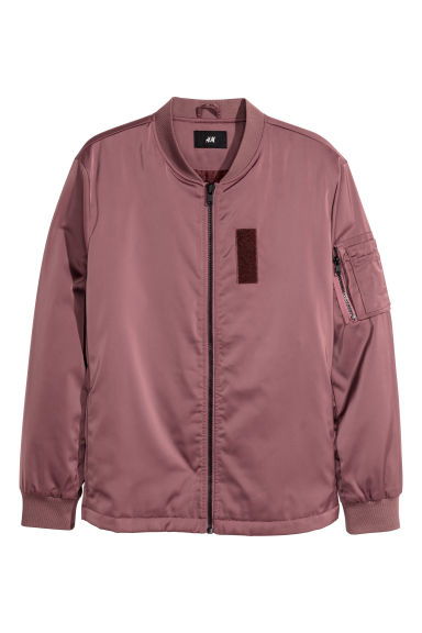 Bomber jacket - Dark old rose -  | H&M