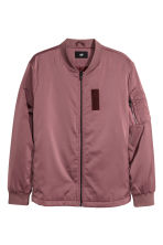 Bomber jacket - Dark old rose - Men | H&M 1